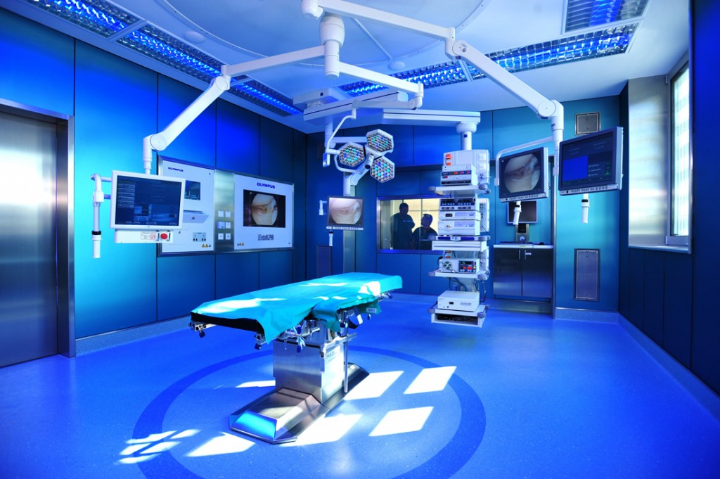 Operationssaal im Orthopädischen Spital Speising